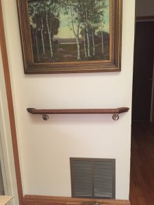 Custom Wood Handrail