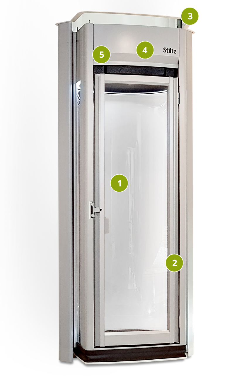 Residential elevator lifts installation and service for for Elevator grab bars