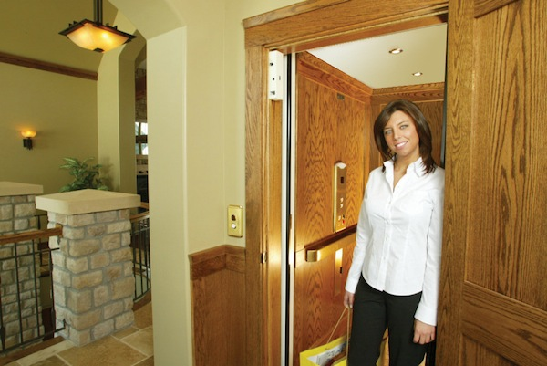 Residential elevator installation east bay marin and for Elevator grab bars