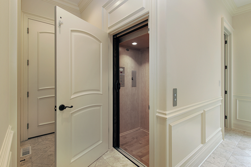 Home elevator sales reach new heights for Elevator grab bars